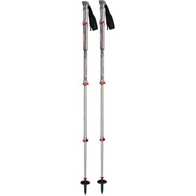 Komperdell Shockmaster Pro Powerlock Compact Poles silver/red